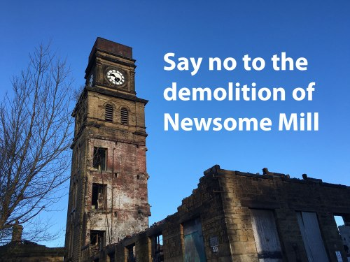 Say no to demolition of Newsome Mills